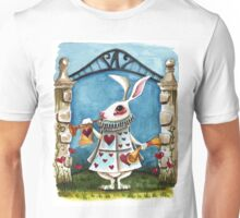 The White Rabbit - Announcing  Unisex T-Shirt