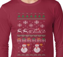 Ugly XMas Sweater - Mazda Miata Long Sleeve T-Shirt