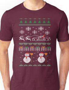 Ugly XMas Sweater - Mazda Miata Unisex T-Shirt