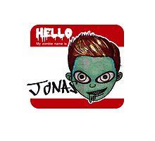 Zombie Jonas Photographic Print