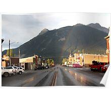 Silverton Rainbow Poster