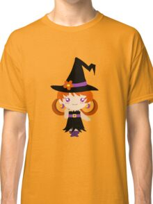 Little Witch Girl Classic T-Shirt