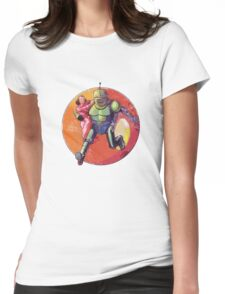 Damsel in Distress 2 Womens Fitted T-Shirt