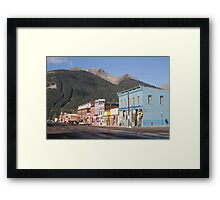 Silverton, Colorado Framed Print
