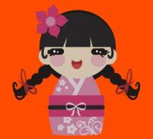 Pink Kokeshi Kids Clothes
