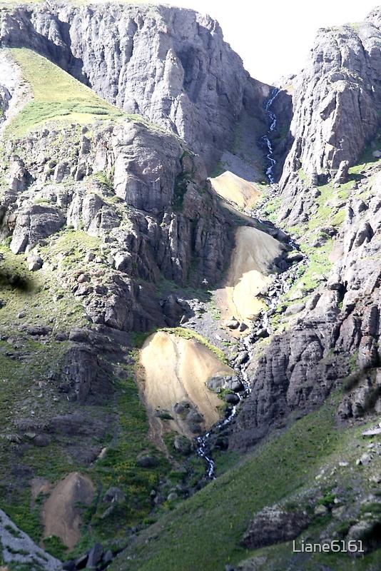 Streaming Waterfall by Liane6161