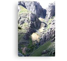 Streaming Waterfall Canvas Print