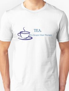 TEA Cheaper than Therapy T-Shirt