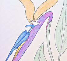 Bird of Paradise by Christine Chase Cooper