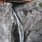 Waterfall Under Bridge to Ouray by Liane6161