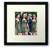 well ........hello! Framed Print