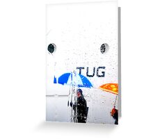 TUG       (CARD ONLY) Greeting Card