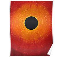 Black Hole Sun original painting Poster