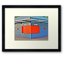 Grab and Go Framed Print