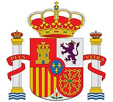 Coat of Arms of Spain  Photographic Print