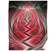 Woven Leaf Cave Poster