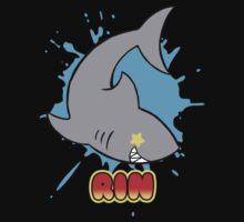 Free! Rin's Shark Tee by BonBonBunny
