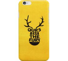 House Baratheon, Ours Is The Fury iPhone Case/Skin