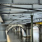 Admiring Girders and Rivet`s  by Larry Lingard-Davis