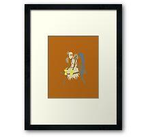 Fiddlesticks Framed Print