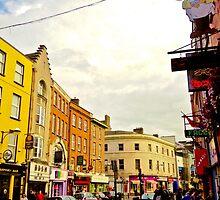 Cork City Street Scene 001  by David Bolz
