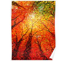 autumn glimmer Poster