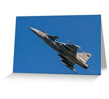 SAAB JAS 39C Gripen 9240 Greeting Card