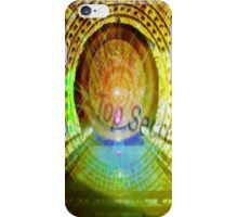 mayan time travel machine iPhone Case/Skin