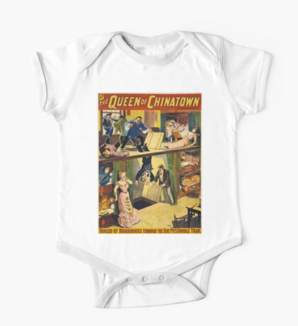 Vintage poster - The Queen of Chinatown One Piece - Short Sleeve