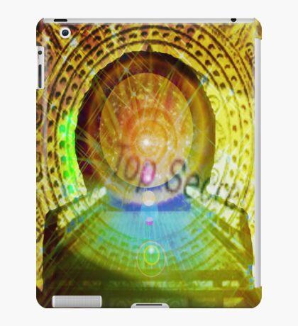 mayan time travel machine iPad Case/Skin