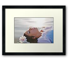 Let The Flowers Bloom Framed Print