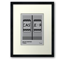 Off The Map | South Kentish Town Framed Print