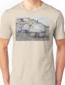 Sunrise at the Ger Camp Unisex T-Shirt
