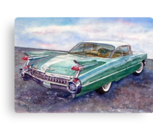 Cadillac Cruising Canvas Print