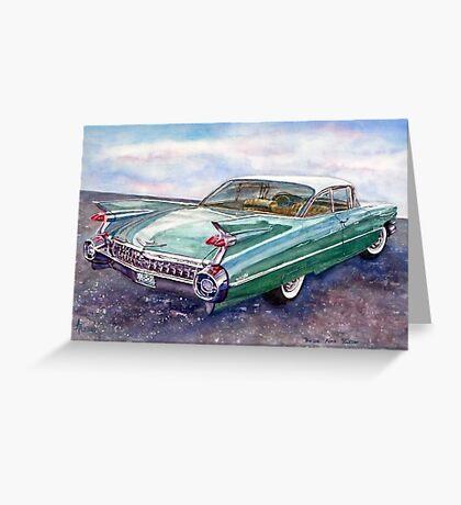 Cadillac Cruising Greeting Card