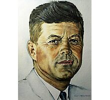 JFK - Tribute To Rockwell Photographic Print