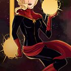Carol Danvers, Captain Marvel by Ennemme