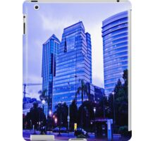 The blue building. iPad Case/Skin