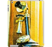 Ring, ring phone old. iPad Case/Skin