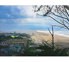 Ocean Beach and Beyond Photographic Print