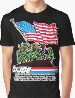 G.I. Joe 1982 - Stars and Stripes Forever Graphic T-Shirt