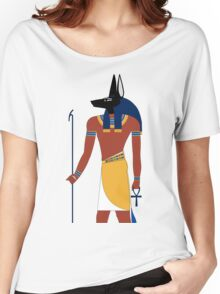 Anubis in Ancient Egypt Women's Relaxed Fit T-Shirt
