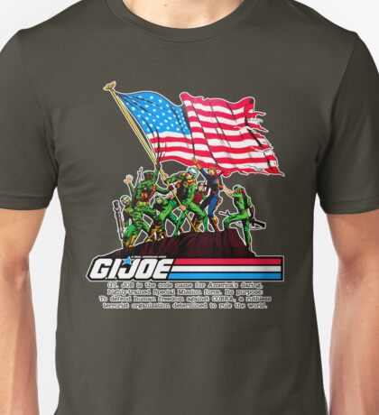 G.I. Joe 1982 - Stars and Stripes Forever Unisex T-Shirt
