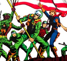 G.I. Joe 1982 - Stars and Stripes Forever Sticker