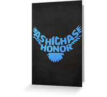 House Arryn, As High As Honor 2 Greeting Card