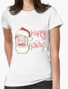 Happy Holidays! Womens Fitted T-Shirt