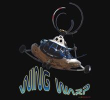 Mil Helicopter Wing Warp T-shirt Design by muz2142