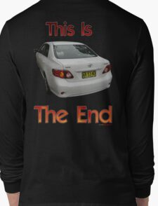 This Is The End (AR.53.ND) T-shirt Design Long Sleeve T-Shirt