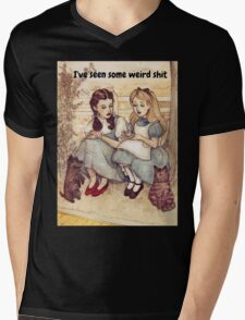 Dorothy and Alice Mens V-Neck T-Shirt