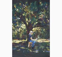 Anne painting under the trees Unisex T-Shirt